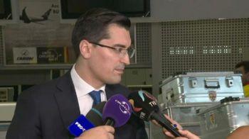 """""""Nu cred in semne rele, mergem la Belgrad sa batem!"""" Ce a spus Burleanu la plecarea nationalei catre Serbia"""