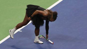 """SCANDAL MONSTRU in finala US Open! Serena s-a certat cu arbitrul si a fost penalizata cu un game! Osaka a izbucnit in lacrimi: """"Imi cer scuze ca am castigat!"""""""