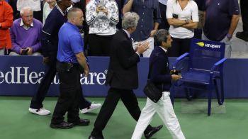PREMIERA URIASA in tenis! Ce s-a intamplat cu arbitrul finalei dupa scandalul cu Serena: MOMENT UNIC intr-o finala de Grand Slam