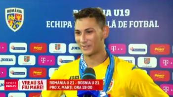 E pe jumatate sarb, dar a ales sa joace pentru Romania! Ce spune Jovan Markovic, pustiul Craiovei, inaintea meciului din Nations League