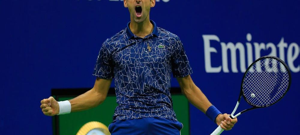 Djokovic a castigat US Open pentru a treia oara in cariera! Victorie fara emotii in finala cu Del Potro: sarbul a ajuns la 14 turnee de Grand Slam castigate