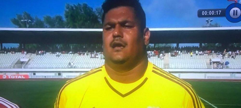 Portarul-BUCATAR al nationalei din Seychelles, aparitia momentului in fotbalul international! Ce gol a putut sa ia. VIDEO