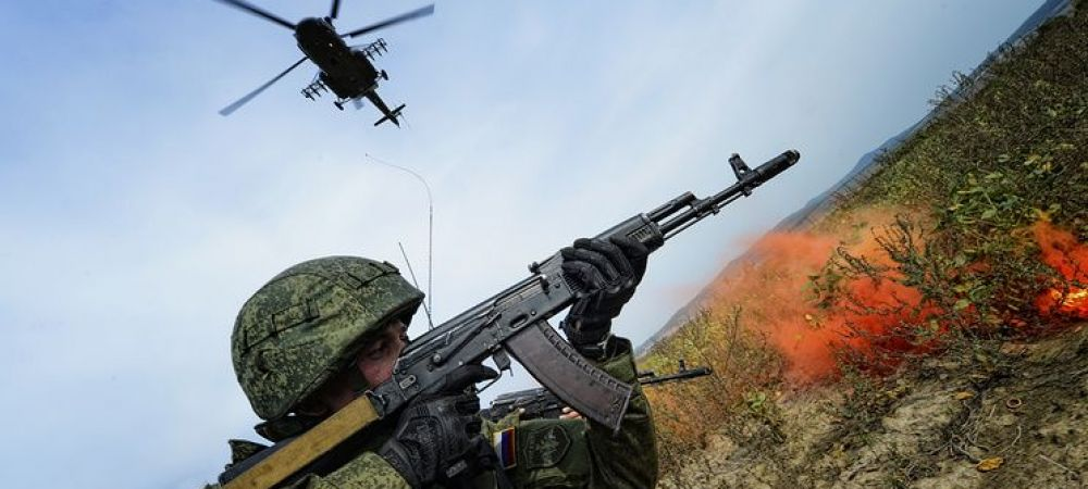 "Rusia, manevre militare fara precedent. ""Rusii se pregatesc de un conflict de anvergura"""