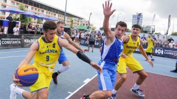 Premiera mondiala: baschet la circ! Super spectacol cu cei mai buni jucatori din lume la Campionatul European de Baschet 3x3! Live la PRO X vineri, sambata si duminica de la 19:30