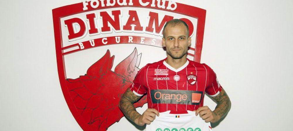 Il asteptau pe Grozav, dar s-au ales cu un fost jucator al Craiovei! Jucatorul impresariat de Anamaria Prodan a semnat cu Dinamo