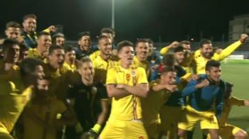 STRIGATUL unei generatii! Jucatorii lui Radoi au declansat NEBUNIA pe teren, imediat dupa victoria cu Bosnia   VIDEO