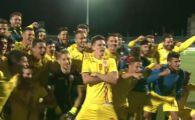 STRIGATUL unei generatii! Jucatorii lui Radoi au declansat NEBUNIA pe teren, imediat dupa victoria cu Bosnia | VIDEO