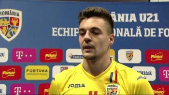 """Petre explica GOLUL FABULOS marcat in poarta Bosniei: """"Nu stiu ce s-a vazut la TV, dar eu am atins mingea!"""" Ce s-a intamplat in vestiar imediat dupa meci"""