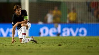 """Modric, atac DUR dupa ce Croatia a fost desfiintata de Spania cu 6-0: """"A jucat fiecare pentru el insusi!"""" Ce spune despre trofeul FIFA Best"""