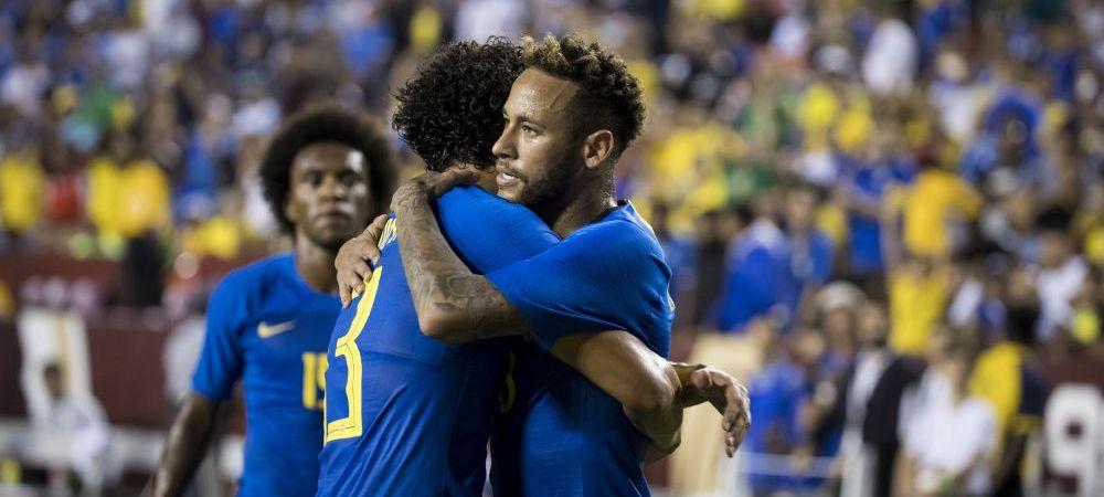 Brazilia a facut show cu El Salvador! Debut dupa 8 ani pentru un jucator, Neymar a inscris si se apropie de Ronaldo! VIDEO