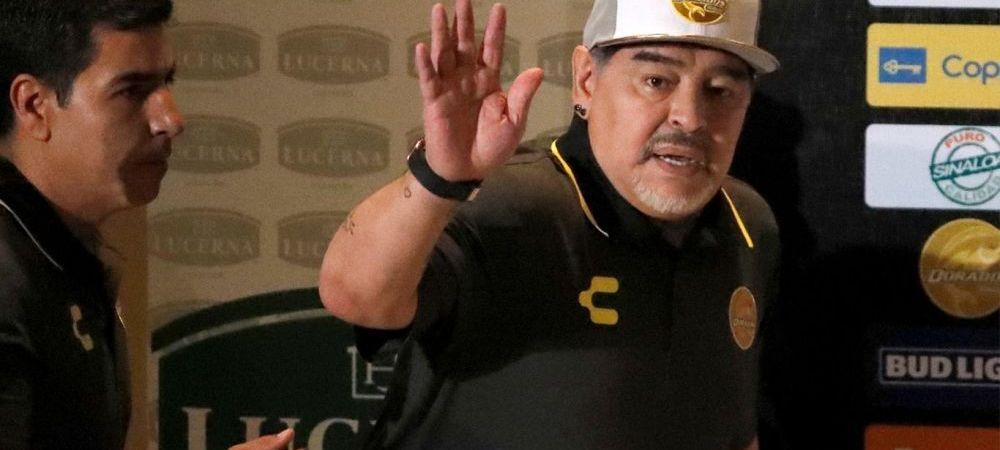 Traficantii i-au BLOCAT accesul in casa! Ce a patit Maradona dupa ce a ajuns la echipa lui El Chapo din Mexic. E pazit non stop!