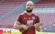 VIDEO: Un cantaret cunoscut la Praga i-a facut o melodie lui Stanciu la mandolina :)