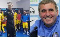 Cum a reactionat Gica Hagi dupa ce a vazut prima data discursul lui Ionut Radu in vestiarul Romaniei U21