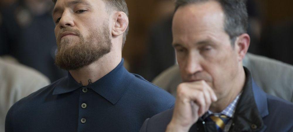 Lovitura dura primita de Conor McGregor! Motivul pentru care e dat in judecata de un alt luptator din UFC