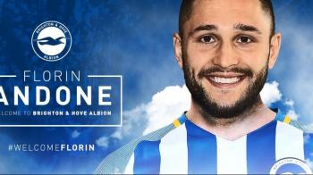 Debutul in Premier League e aproape! Florin Andone s-a refacut dupa accidentare. Ce decizie a luat antrenorul lui Brighton inaintea etapei din weekend