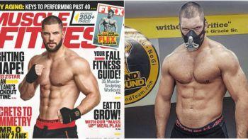 Romanul care joaca in Creed 2 alaturi de Stallone, pe coperta celei mai populare reviste de fitness din lume! Cum se antreneaza pentru a arata asa