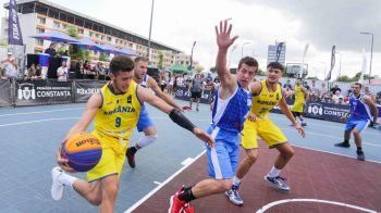 Europeanul de baschet 3x3 LIVE VIDEO | Romania intalneste Serbia la 19:25, pe PROX! Vezi toate meciurile AICI