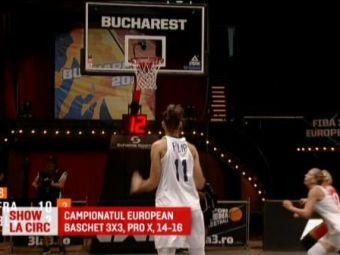 Infrangere pentru Romania in primul meci de la Europeanul de baschet 3x3! Tot turneul este in direct la Pro X