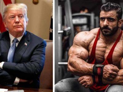 Unul dintre cei mai musculosi oameni din lume, interzis de Donald Trump in USA!
