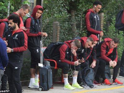 Jucatorii de 1 miliard al lui Liverpool au plecat cu TRENUL la Londra! Cum a fost surprins Klopp