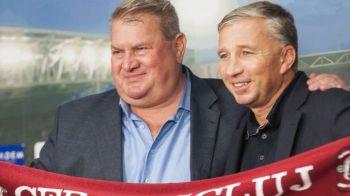 ASTA ar fi BOMBA anului in Liga 1: Petrescu inapoi la CFR?! Prima reactie OFICIALA a lui Muresan