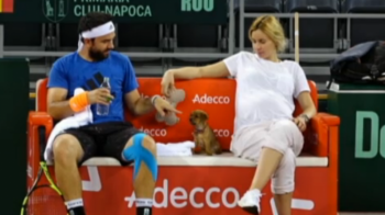 Mergea poate sa devina tata in timp ce joaca la Cupa Davis! Romania 1-1 Polonia