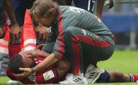 Cosmar pentru Bayern la derby-ul cu Leverkusen! Un star al echipei si-a rupt piciorul si nu mai joaca in 2018