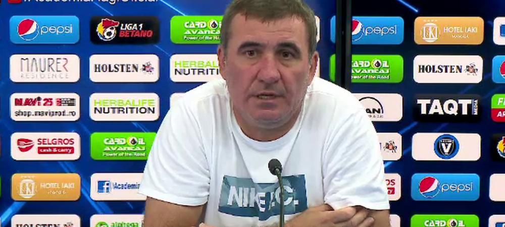 """Hagi a luat FOC cand a fost intrebat de plecarea lui Ianis la FCSB: """"Lasati-i pe altii sa isi faca jucatorii de milioane!"""""""