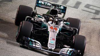 Marele Premiu din Singapore! Hamilton castiga cursa si are 40 de puncte peste Vettel la general