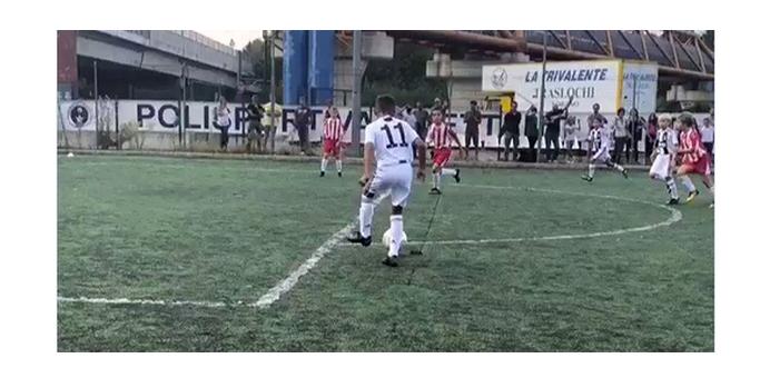 """""""Prieteni, el e Cristiano Jr!"""" Fiul starul portughez face spectacol la echipa de juniori a lui Juventus! A marcat din nou"""
