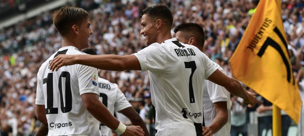 De cand astepta Ronaldo sa faca asta! Cum s-a bucurat pentru primele goluri in Serie A