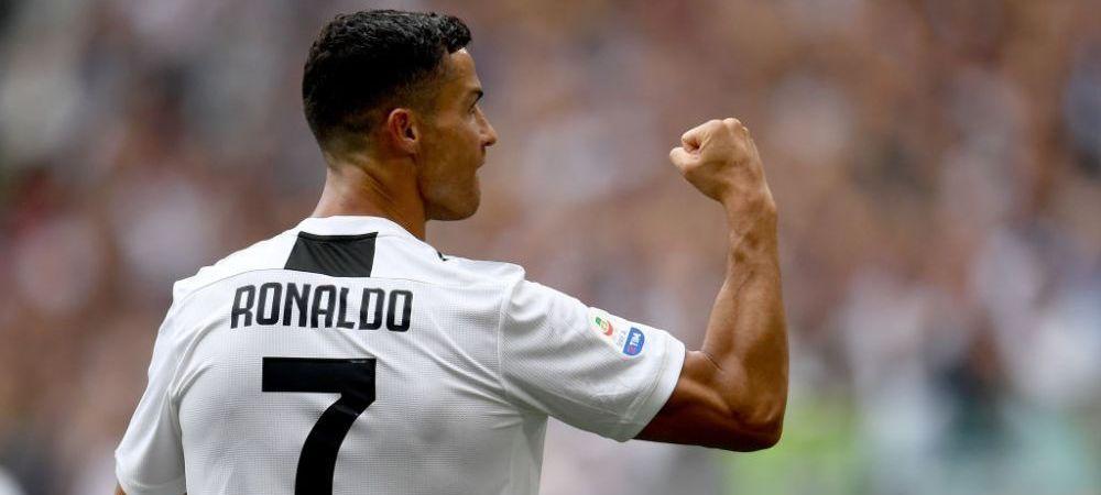 Postarea care a RUPT internetul: 3,5 milioane de like-uri in doua ore! Ce a scris Ronaldo pe net dupa primele goluri pentru Juventus