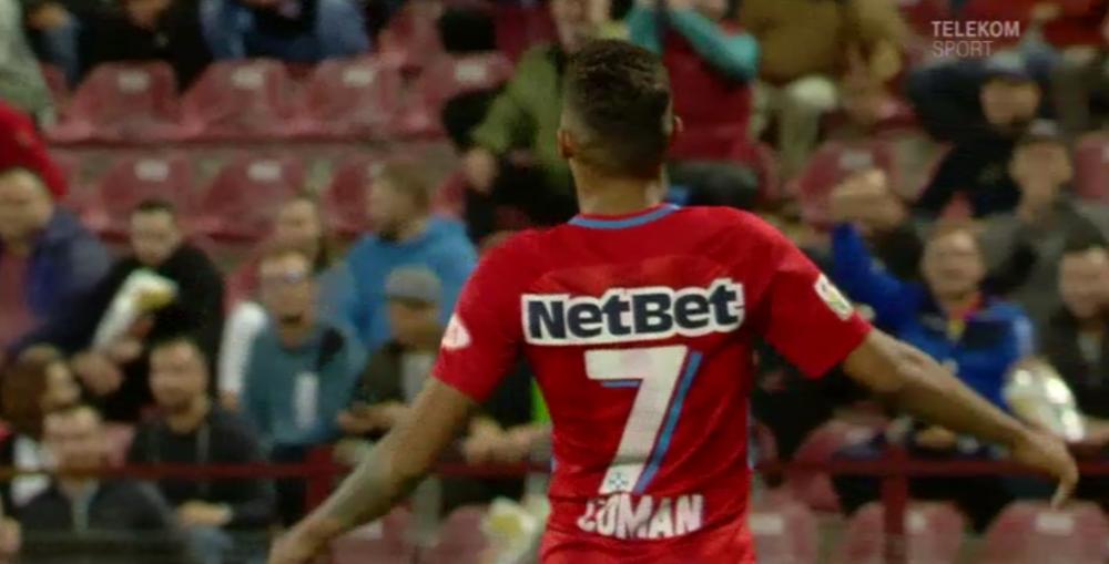 Sezonul lui Florinel Coman! Al 7-lea gol marcat de