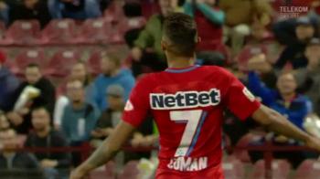 L-a imitat Florinel Coman pe Gigi? Cum s-a bucurat dupa golul marcat cu in derby-ul cu CFR Cluj