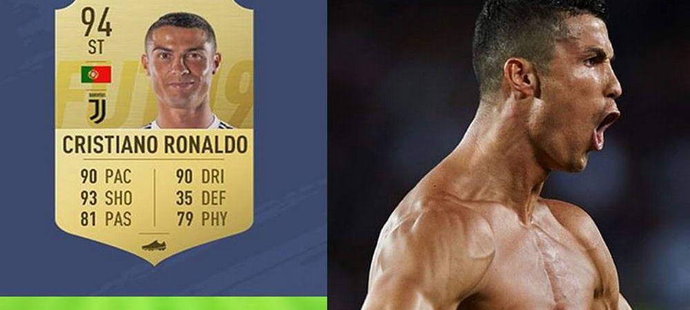 Polemica dupa aparitia FIFA 19. Ce au observat fanii in legatura cu Cristiano Ronaldo. FOTO