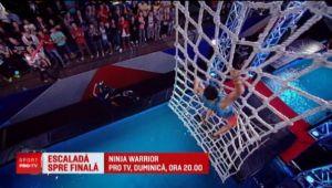 A facut spectacol la Ninja Warrior! Cum a reusit sa impresioneze pe toata lumea