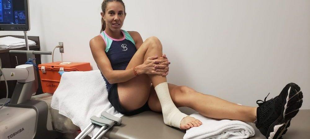 PROBLEMELE continua pentru Mihaela Buzarnescu! Ce veste proasta a primit dupa accidentarea dramatica de la Rogers Cup