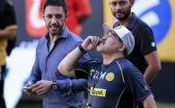 VIDEO | SHOW TOTAL pe banca: Maradona a castigat meciul de debut din Mexic si s-a dezlantuit! Record dupa 56 de partide