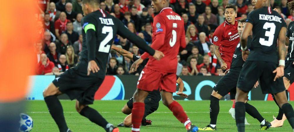 LIVERPOOL - PSG 3-2 LIVE UEFA CHAMPIONS LEAGUE | Firmino da lovitura in prelungiri! PSG a egalat de la 0-2, insa pierde pe Anfield! Vezi toate fazele meciului!