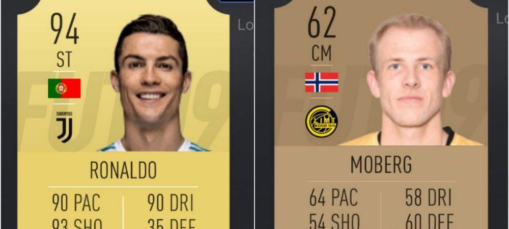 """Genial! """"Cristiano, ce-ai facut, ma, nene?!"""" Motivul pentru care un fotbalist cvasianonim din Norvegia l-a luat la misto pe starul lui Juve"""