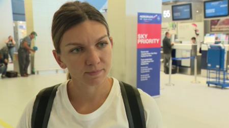 INTERVIU EXCLUSIV   Simona Halep, la plecarea catre ultimele turnee din 2018:  Mi-ar placea sa raman no.1 . VIDEO
