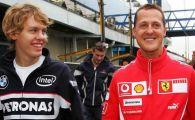 """Stie ceva? Vettel, declaratie incredibila: """"Vreau sa-i cer sfaturi lui Schumacher despre cum sa castig titlul mondial"""""""
