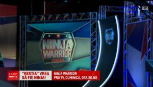 Face SENZATIE la Ninja Warrior, apoi vrea sa rupa TOT in UFC! Cine e BESTIA de la cer mai dur show al Romaniei