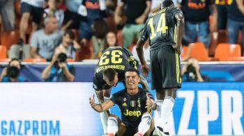 SOC TOTAL la debutul lui Cristiano Ronaldo in UCL pentru Juventus! A primit ROSU DIRECT si a iesit de pe teren in lacrimi! Ce s-a intamplat
