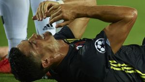 Momente incredibile: Cristiano Ronaldo a fost in stare de soc! Ce le-a spus arbitrilor, printre lacrimi, imediat dupa ce a primit ROSU
