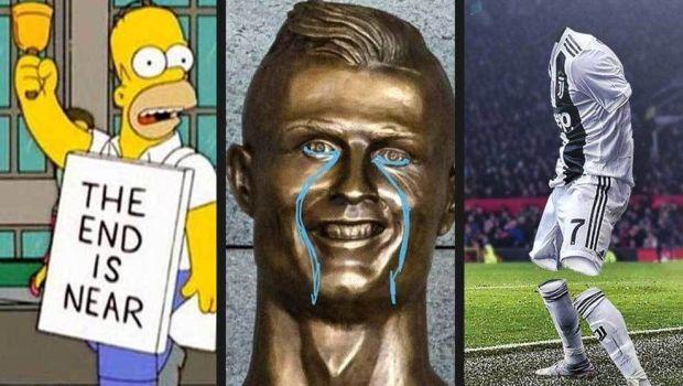 """Internetul a EXPLODAT dupa eliminarea lui Cristiano Ronaldo: """"Florentino, unde esti?"""" Cele mai tari glume. FOTO"""