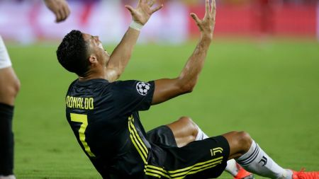 Prima eliminare din Liga, efectul plecarii de la Real! Englezii vin cu o ipoteza ULUITOARE: ce sta in spatele  rosului  primit de Ronaldo