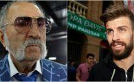 """Ion Tiriac il face praf pe Pique: """"N-a inteles nimic, nu ma mir, e jucator de fotbal"""" Ce conflict au"""