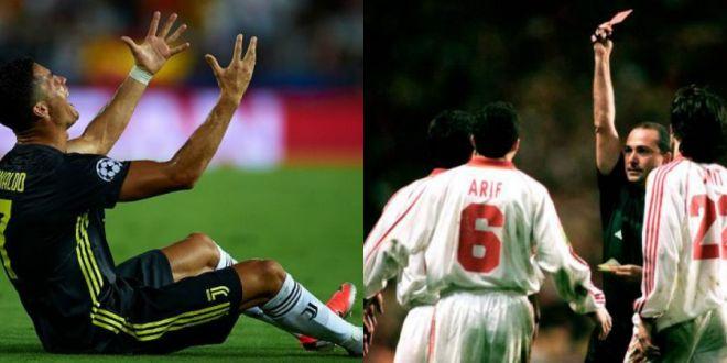Hagi sare in apararea lui Cristiano Ronaldo:  Asa a fost si la mine in finala Cupei UEFA!  Vezi faza
