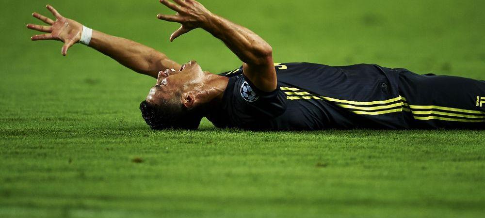 Anuntul facut de englezi in urma cu putin timp! Ce suspendare va primi Cristiano Ronaldo dupa eliminarea cu Valencia